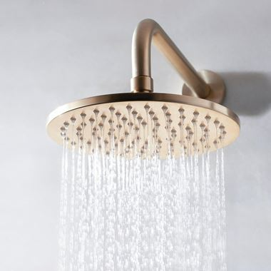 Crosswater MPRO 300mm Shower Head - Brushed Brass